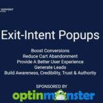 Boost Conversions With Exit Intent PopUps