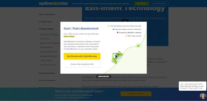 boost conversions with exit intent popups featured banner