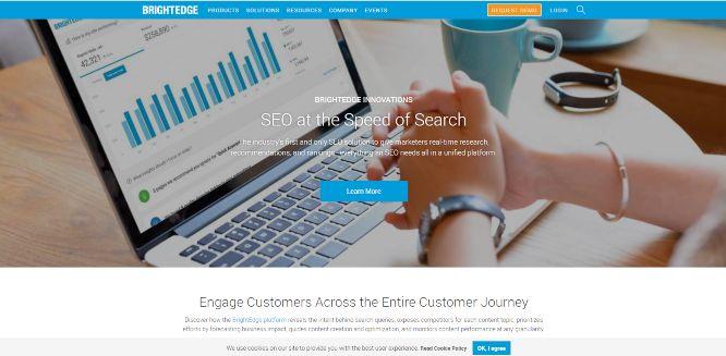 brightedge - seo tools & platforms