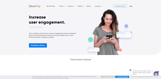 clevertap - mobile marketing