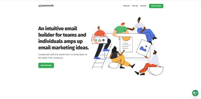designmodo postcards - email newsletter templates & builders v2