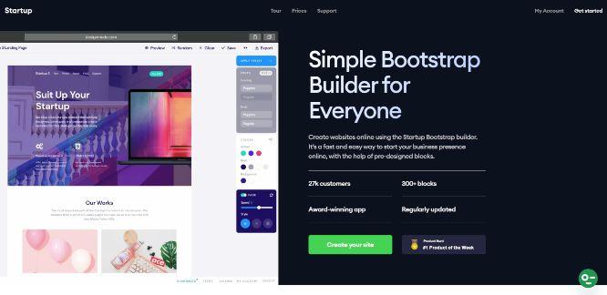 designmodo startup - landing page builders