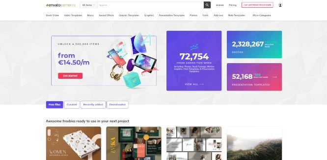 envatoelements - design marketplaces