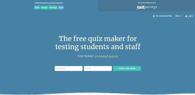 freeonlinesurveys - quiz builders & generators