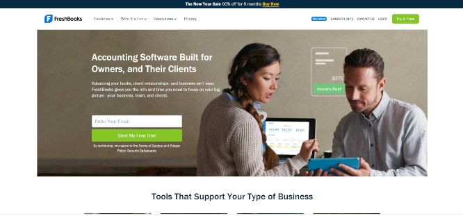 freshbooks - business accounting solutions
