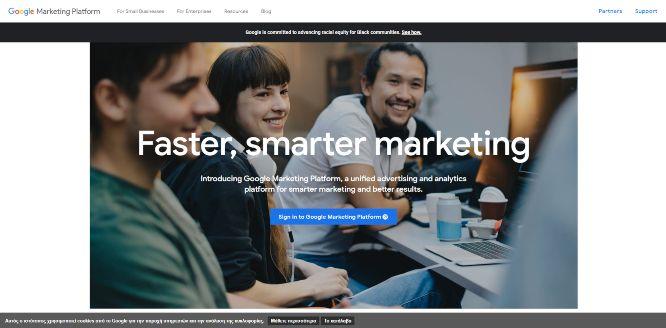 google marketing platform - website analytics & statistics tools