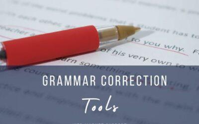 5 Grammar Correction Tools & More