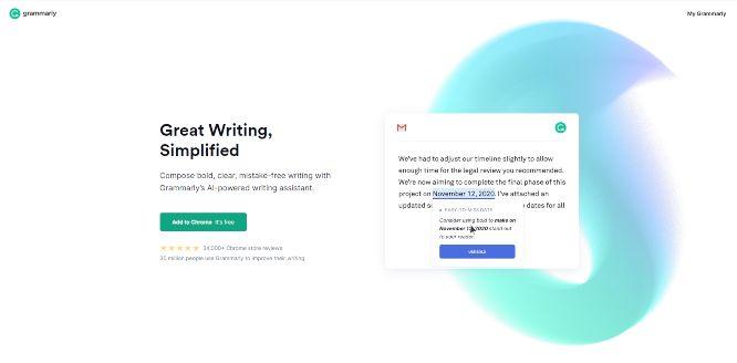 grammarly - grammar correction tools