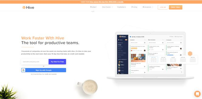 hive - project management tools & software