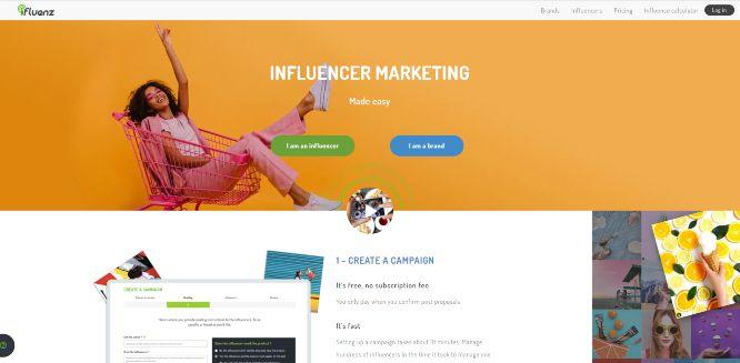 ifluenz - influencer marketing