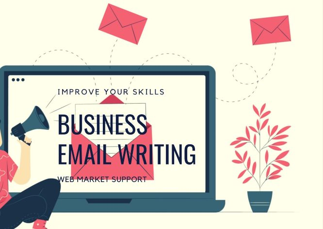 improve your business email writing skills featured banner