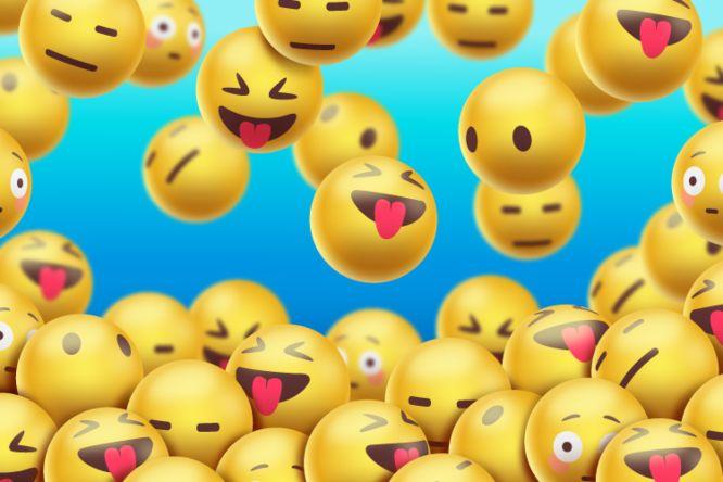 instagram marketing in 2021 emojis - floating-emojis-background-realistic-design_5893373