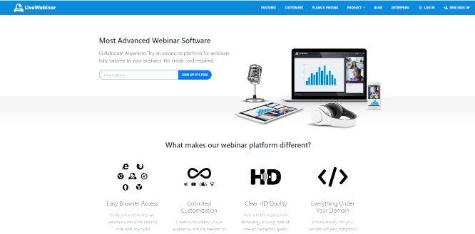 livewebinar - webinars platforms & hosting solutions
