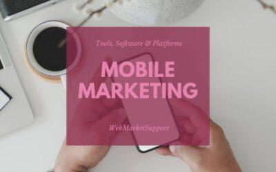 5 Trusted Mobile Marketing Software & Platforms