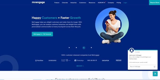 moengage - mobile marketing