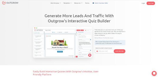 outgrow - quiz builders & generators
