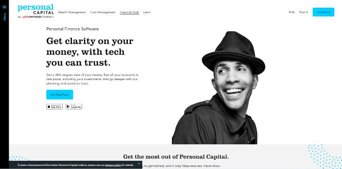 personalcapital - money management apps & tools