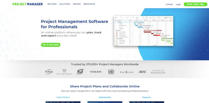 projectmanager - project management tools & software