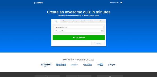 quizmaker - quiz builders & generators