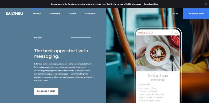 sailthru - mobile marketing