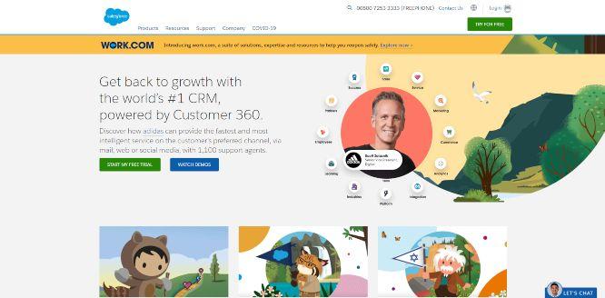 salesforce - marketing automation software