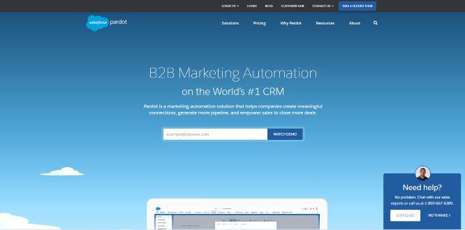 salesforce pardot - lead generation tools & software