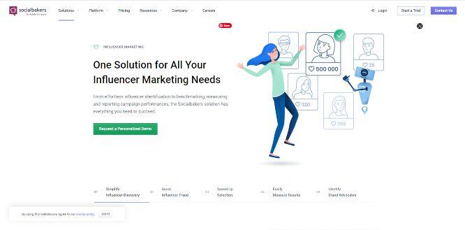 socialbakers - influencer marketing
