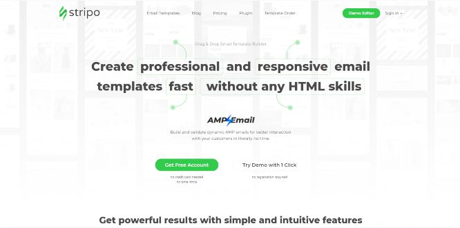 stripo - email newsletter templates & builders v2