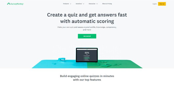 surveymonkey - quiz builders & generators
