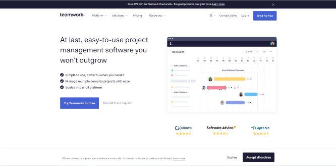 teamwork - project management tools & software