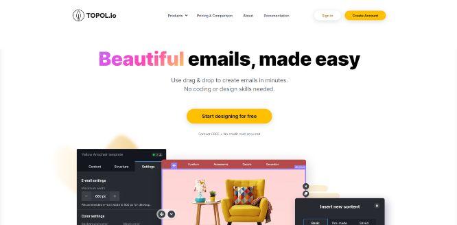 topol - email newsletter templates & builders v2