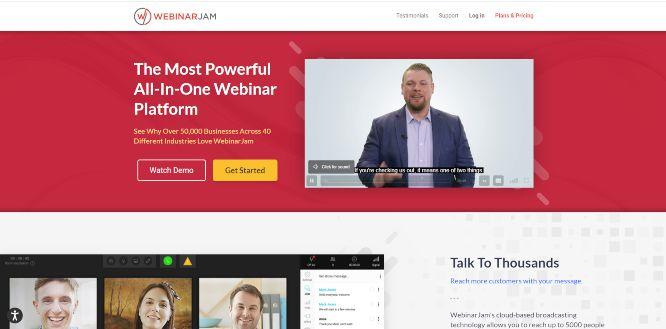webinarjam - webinars platforms & hosting solutions