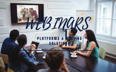 Webinars | 5 Reliable Platforms & Hosting Solutions