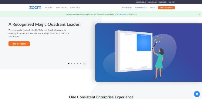zoom - webinars platforms & hosting solutions