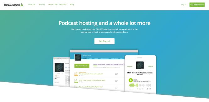 buzzsprout - podcast hosting platforms