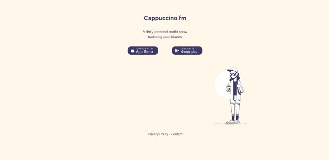 cappuccino fm - social audio platforms