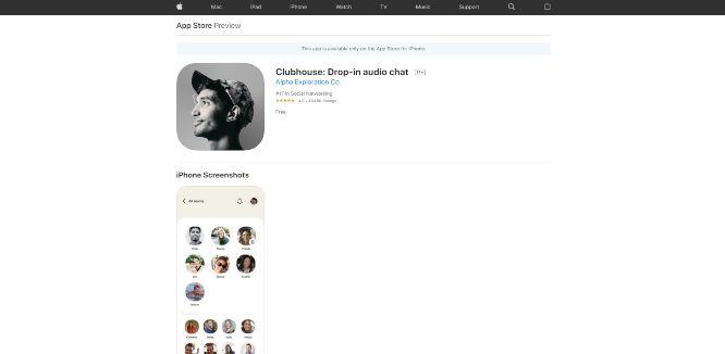 clubhouse - social audio platforms