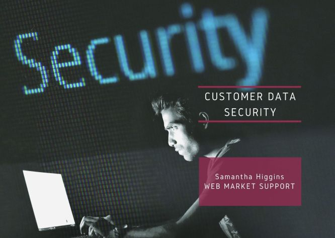 customer data security featured banner
