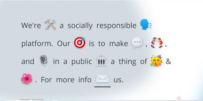 fireside chat - social audio platform