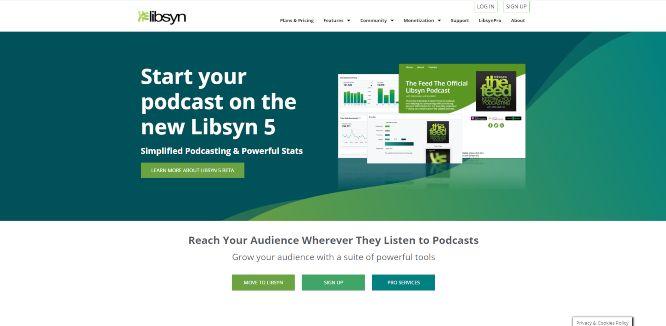 libsyn - podcast hosting platforms