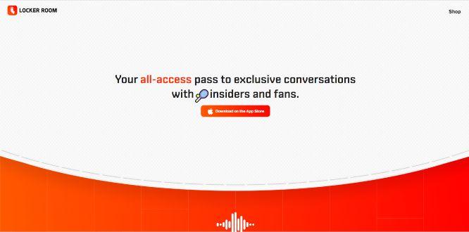locker room - social audio platforms