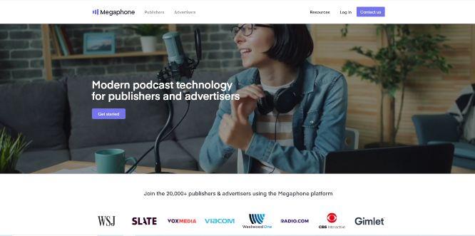 megaphonefm - podcast hosting platforms