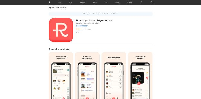 roadtrip - social audio platforms