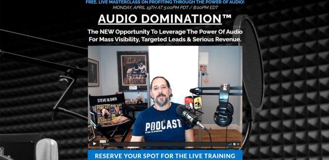 steve olsher audio domination live training monday apr 19 5pm pt 666px