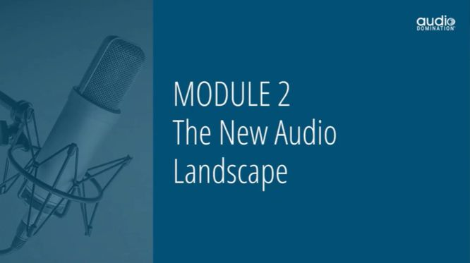 steve olsher audio domination review - module 02 the new audio landscape