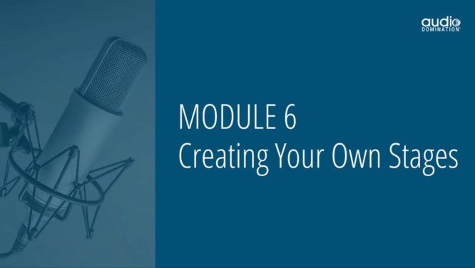 steve olsher audio domination review - module 06 creating your own stages