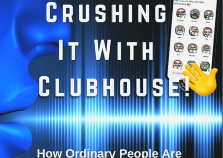 steve olsher crushing it with clubhouse ebook banner 444px