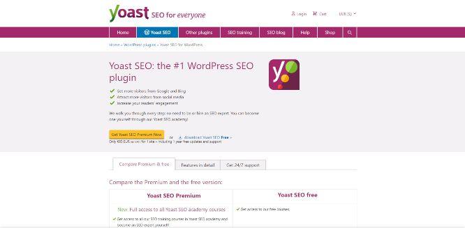 yoastseo - content audit tools