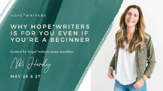 hope writers may 2021 free events why its for you even if you are a beginner