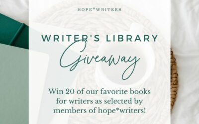 Hope Writers Giveaway – 20 Top Recommended Books For Writers